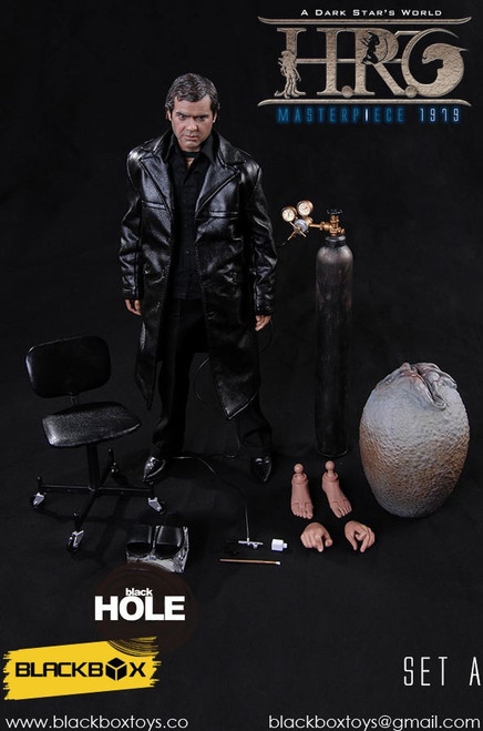 hr geiger 1:6 scale figure