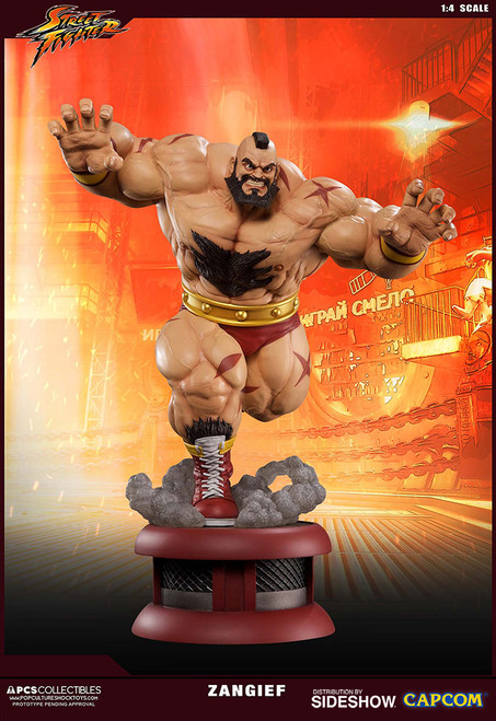 Zangief 1:4 Scale Ultra Statue