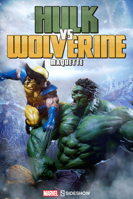 sideshow collectibles hulk vs wolverine maquette