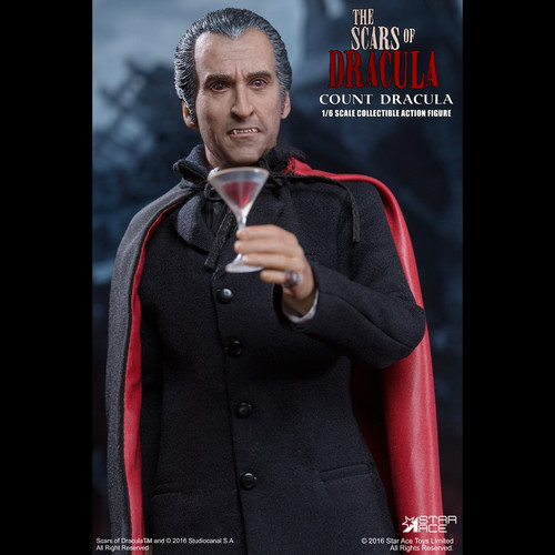 "Christopher Lee as ""Count Dracula"" One Sixth Scale Figure (Pre-Order)"