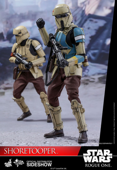 hot toys rogue one star wars story shortrooper sixth scale figure