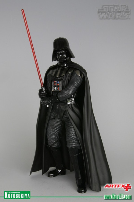 kotobukiya darth vader return of anakin skywalker artfx+ statue