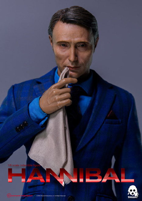 threezero hannibal lecter sixth scale figure