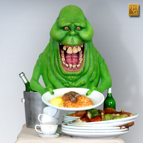 hollywood collectibles slimer quarter scale statue