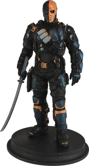 icon heroes arrow tv deathstroke statue paperweight
