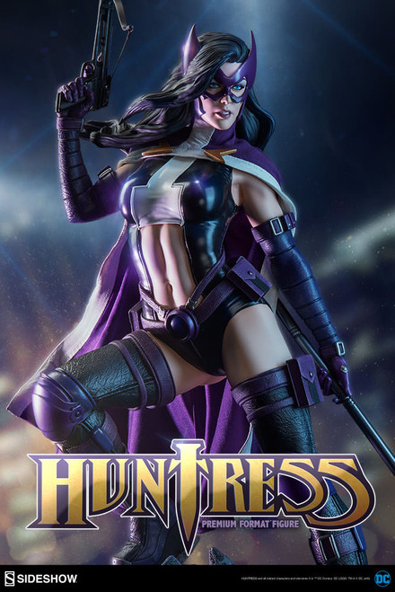 sideshow collectibles huntress premium format figure
