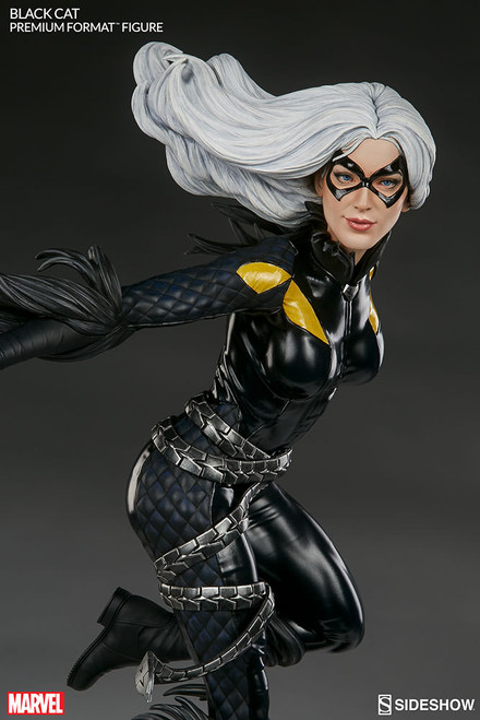 sideshow collectibles black cat premium format figure
