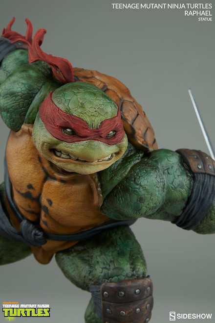 sideshow collectibles teenage mutant ninja turtles raphael statue