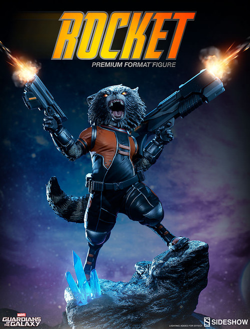 sideshow collectibles rocket raccoon premium format figure