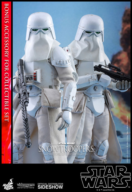 hot toys snowtroopers sixth scale figure set