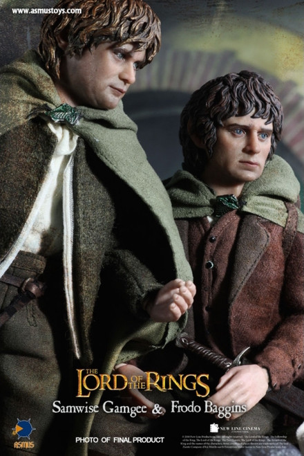 asmsus toys frodo sam sixth scale figure set