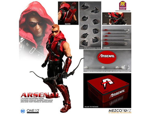 One 12 Collective DC Previews Exclusive Arsenal Action Figure