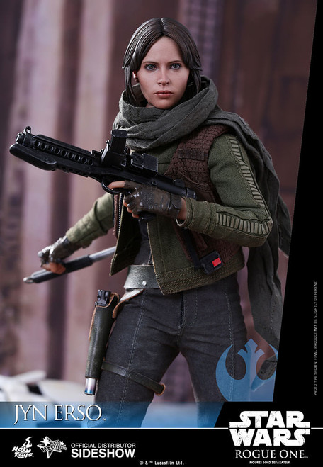 hot toys rogue one jyn erso figure