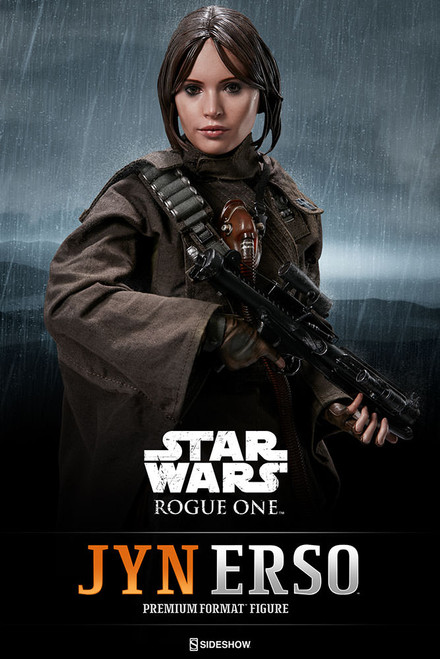 sideshow collectibles star wars rogue one jyn erso premium format figure