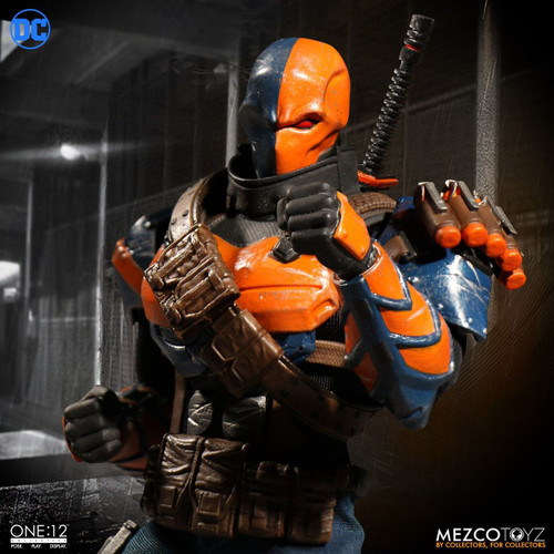 mezco toyz one 12 collective deathstroke action figure