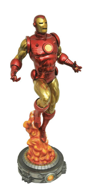 diamond select toys marvel gallery bob layton iron man pvc figure