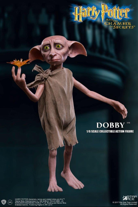 star ace harry potter chamber of secrets dobby house elf 1/6 scale figure