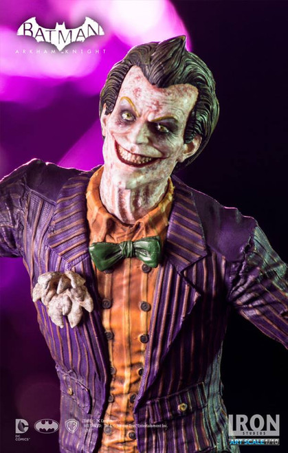 Iron studios batman arkham knight 1/10 scale art statue the joker