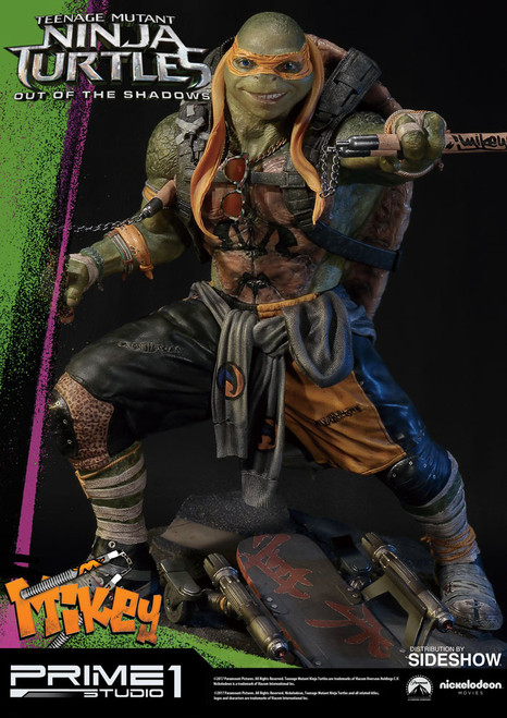 Prime 1 Studio Teenage Mutant Ninja Turtles Michelangelo Statue