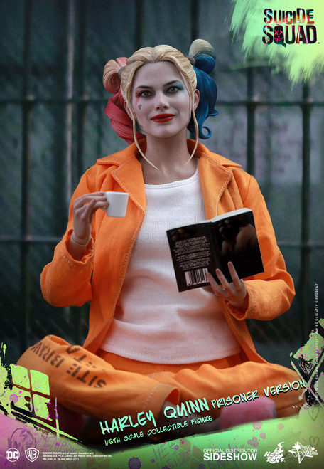 hot toys harley quinn prisoner version 1/6 scale figure