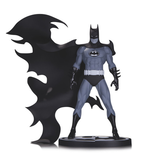 batman black white norm breyfogle statue