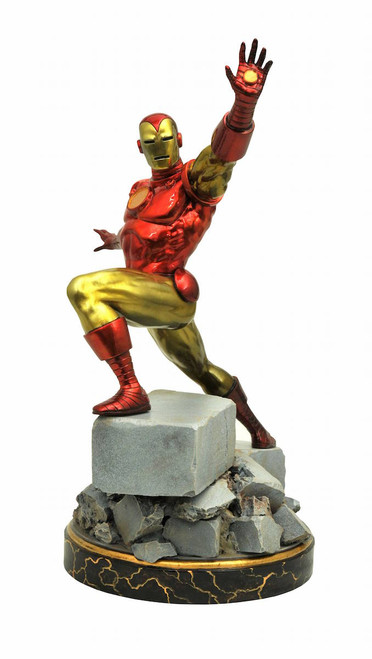diamond select toys premier collection classic iron man statue