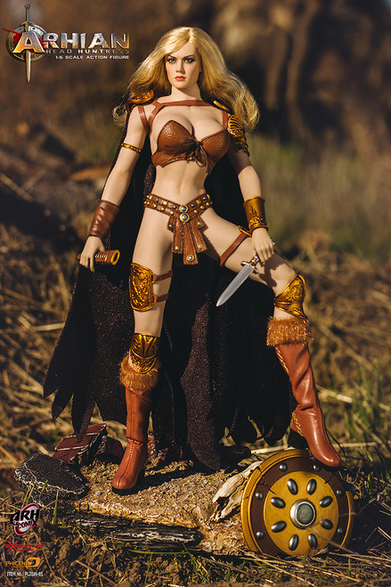 phicen arh comix arhian head huntress figure