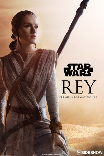 sideshow collectibles rey premium format figure