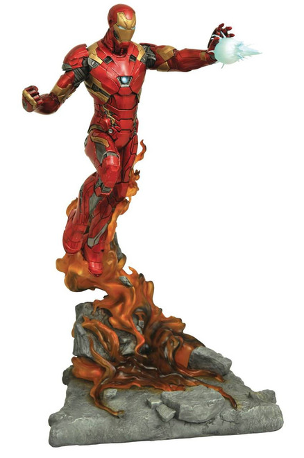 diamond select marvel milestones civil war movie iron man statue