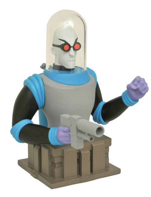 diamond select batman the animated series mr freeze bust