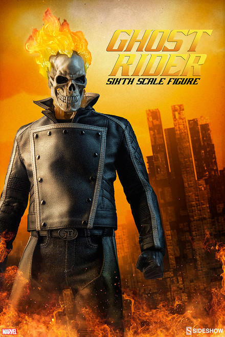 sideshow collectibles ghost rider 1/6 scale figure