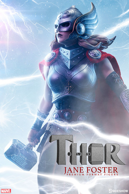sideshow collectibles thor jane foster premium format figure