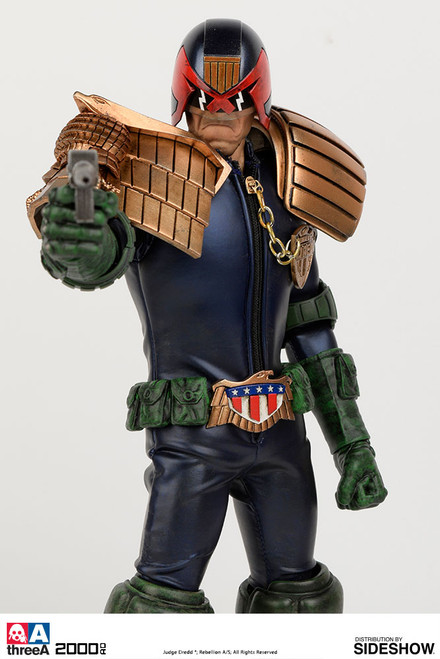 threea apocalypse war judge dredd 1/6 scale figure