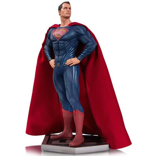 dc collectibles justice league movie superman statue