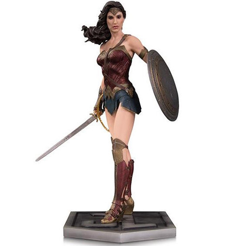 dc collectibles justice league movie wonder woman statue