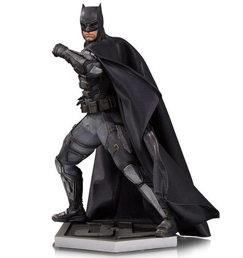 dc collectibles justice league movie batman statue