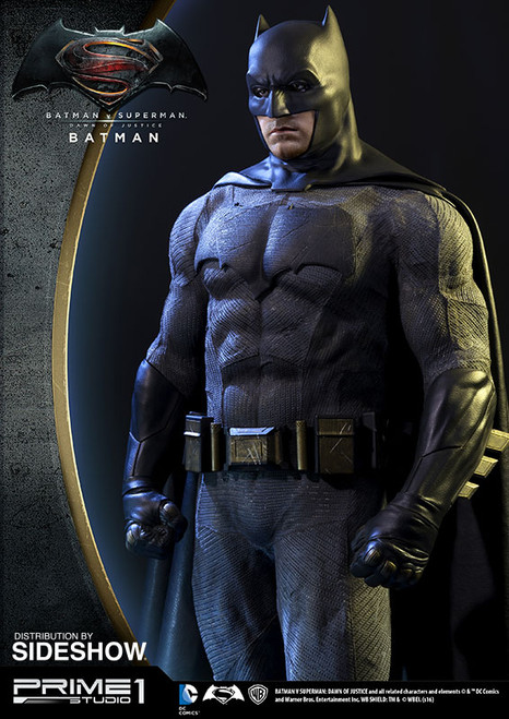 prime 1 studio batman v superman dawn of justice batman 1/2 scale statue