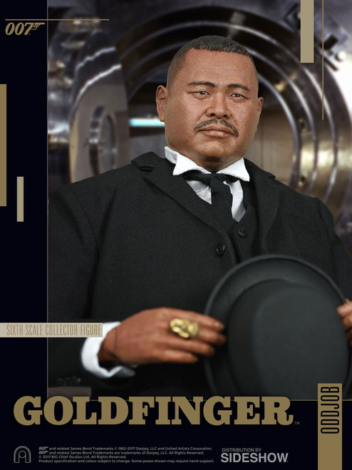 big chief studios james bond oddjob 1/6 scale figure