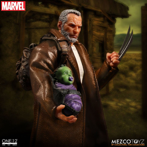 mezco toyz one 12 collective old man logan