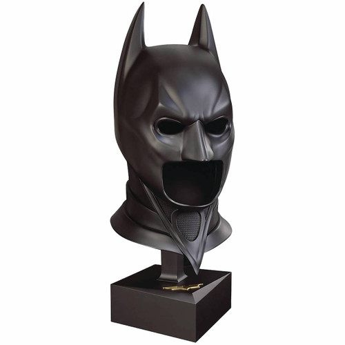 noble collection dark knight rises batman special edition cowl replica