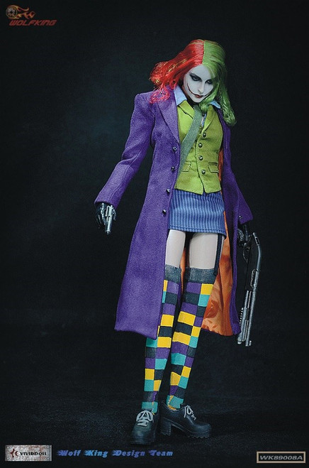 wolf king female joker sixth scale figure