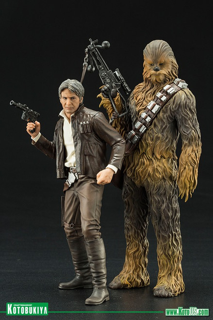 Star Wars: The Force Awakens Han Solo & Chewbacca 2 Pack