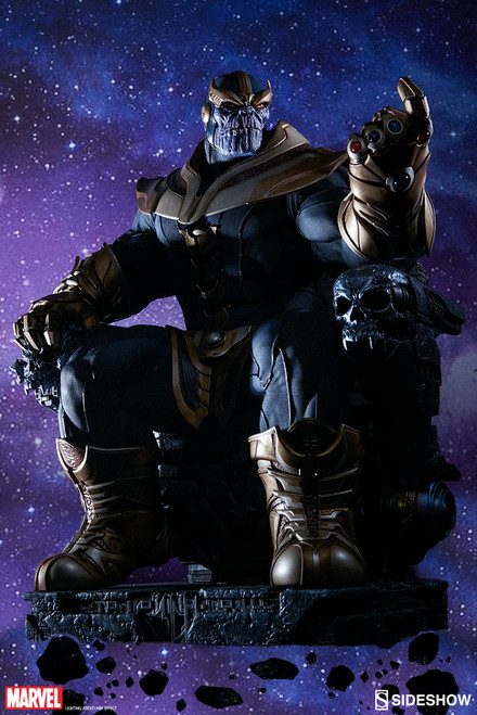 Sideshow Collectibles Thanos On Throne Maquette