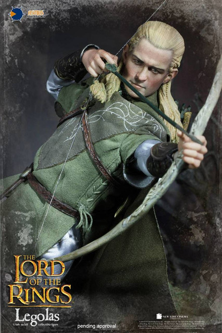 Asmus Toys The Lord of the Rings Series: Legolas 1:6 Scale Figure-a