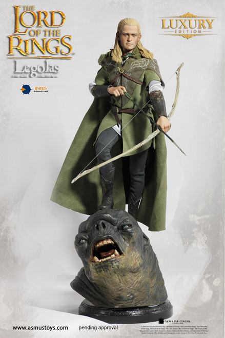 Asmus The Lord of the Rings Series: Legolas Luxury Edition 1:6 Scale Figure