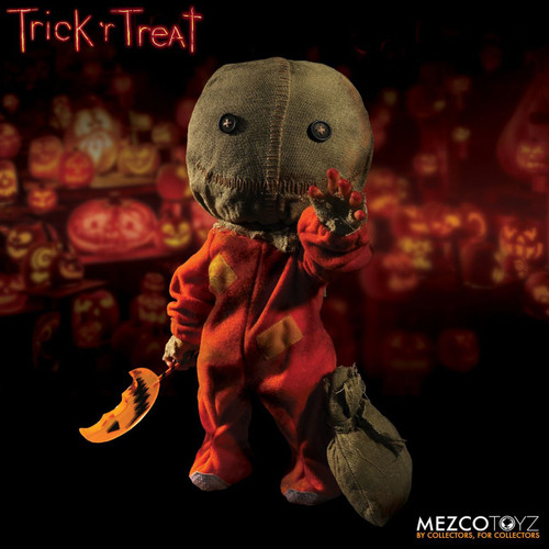 "Mezco 15"" Mega Scale Trick 'r Treat Sam-a"