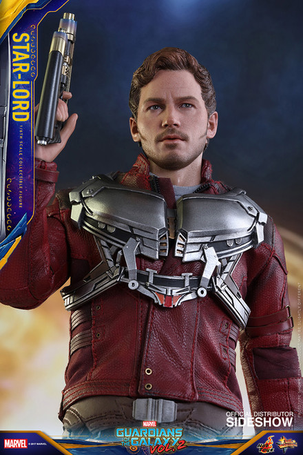 hot toys guardians of the galaxy vol 2 star lord sixth scale figure