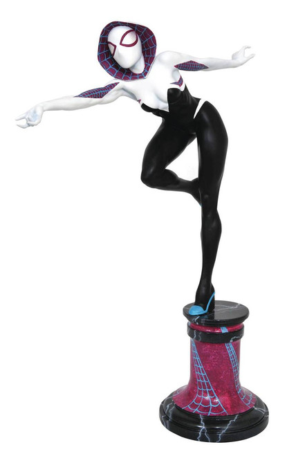 Diamond Select Toys Marvel Premier Collection Spider-Gwen Masked Statue
