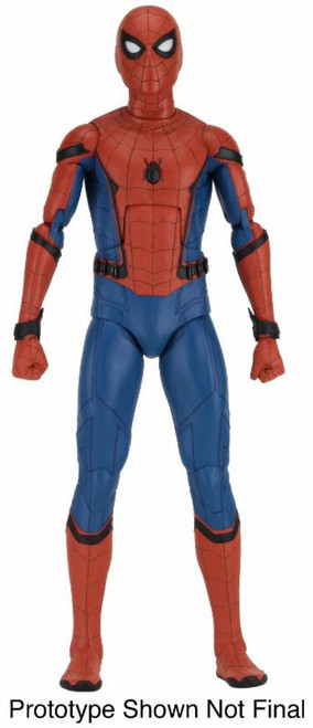 spider-man homecoming quarter scale figure neca