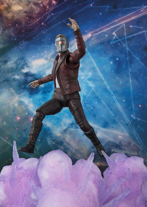 sh figuarts star lord with explosions